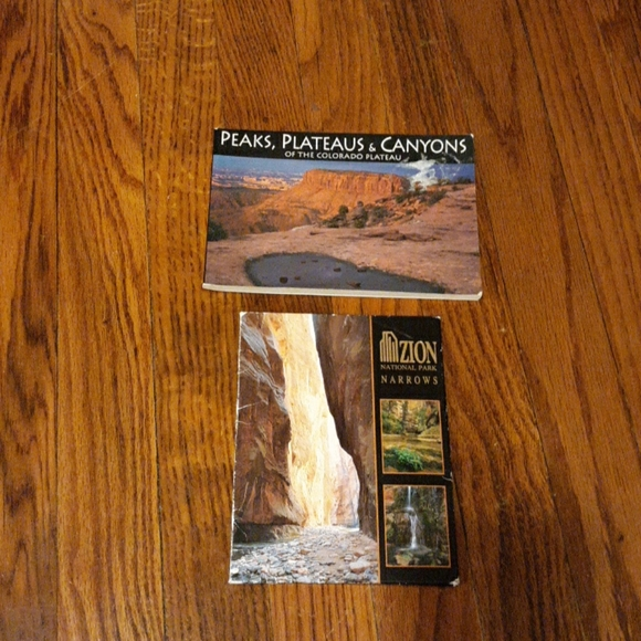 Two packages of National Park postcards